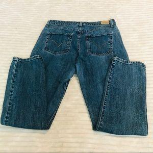 Levi's Mid Rise Skinny Denim Jeans size 12